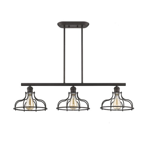 Industrial Kitchen Lighting You'll Love In 2019 | Wayfair With Regard To Ariel 3 Light Kitchen Island Dome Pendants (View 18 of 25)