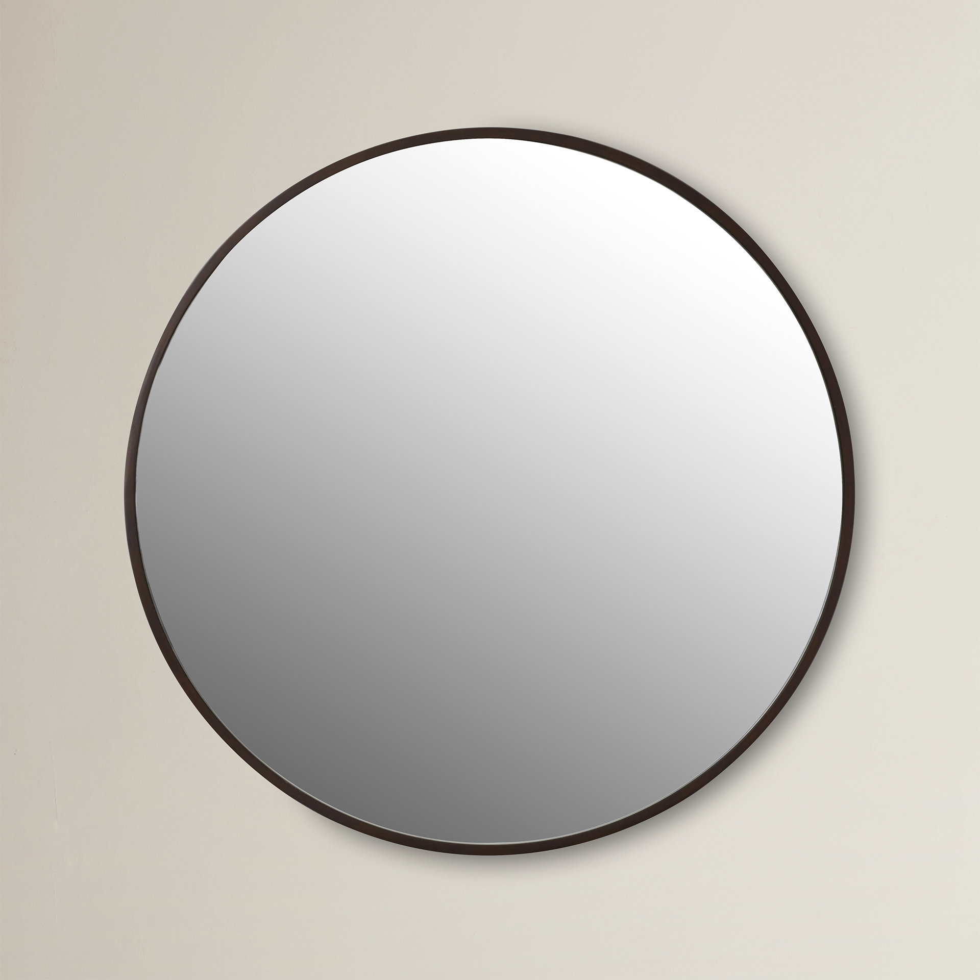 Industrial Mirrors | Joss & Main For Koeller Industrial Metal Wall Mirrors (Image 5 of 20)