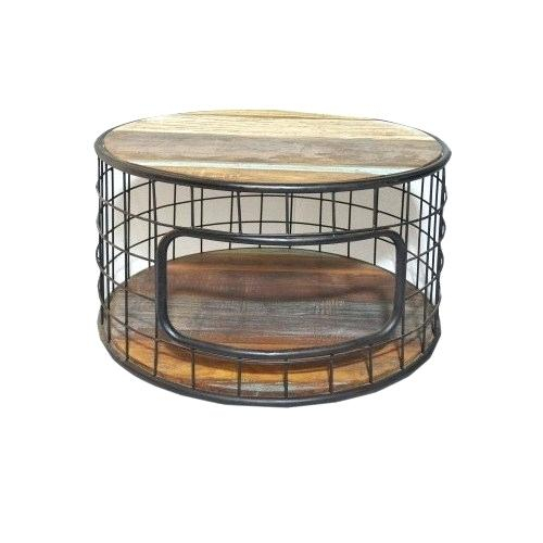 Industrial Round Coffee Table – Give (View 33 of 50)