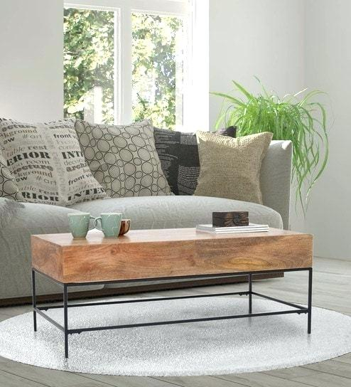 Industrial Wood Coffee Table – Magicbooks (View 31 of 50)