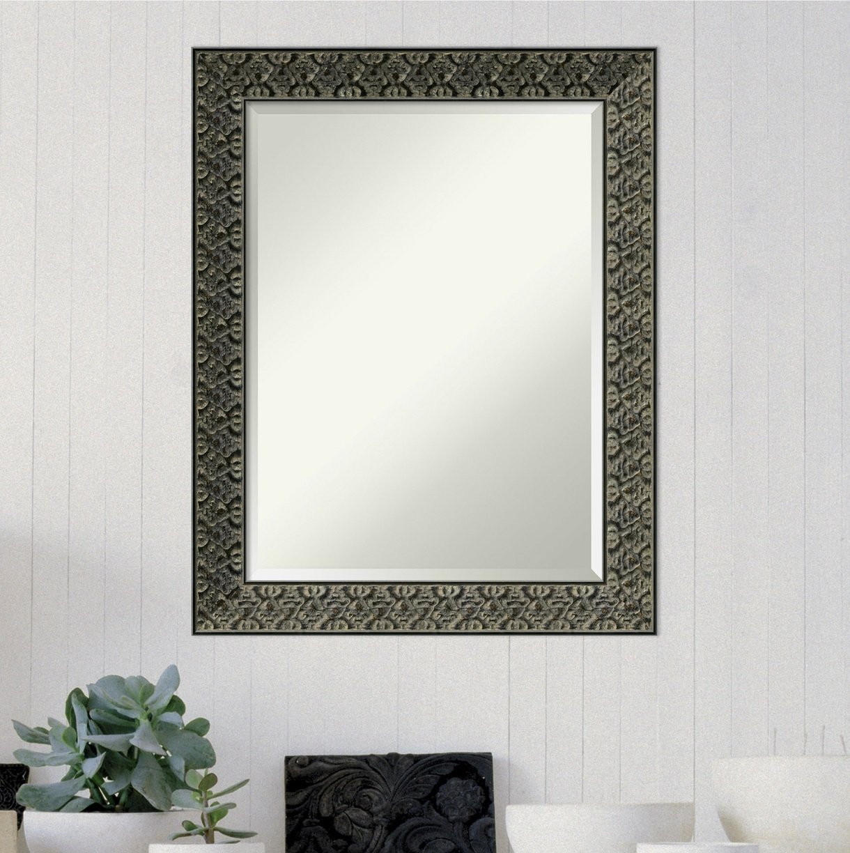 Intaglio Modern & Contemporary Beveled Wall Mirror For Modern & Contemporary Beveled Wall Mirrors (View 15 of 20)