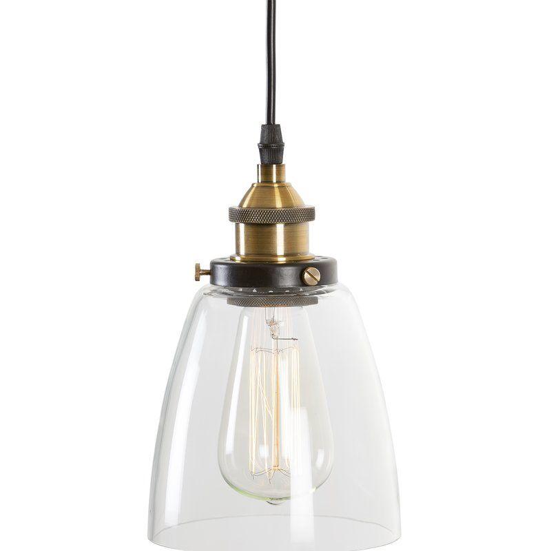 Iron Gate 1 Light Single Bell Pendant | Lighting In 2019 With 1 Light Single Bell Pendants (Image 12 of 25)