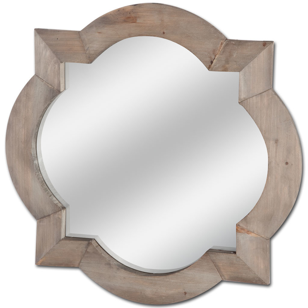 Irregular Wall Mirrors   Joss & Main With Regard To Padang Irregular Wood Framed Wall Mirrors (View 8 of 20)