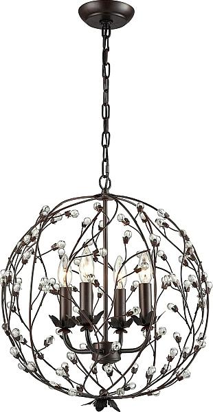 Isra 4 Light Globe Pendant | Luxury Home Lighting With Armande 4 Light Lantern Drum Pendants (View 17 of 25)