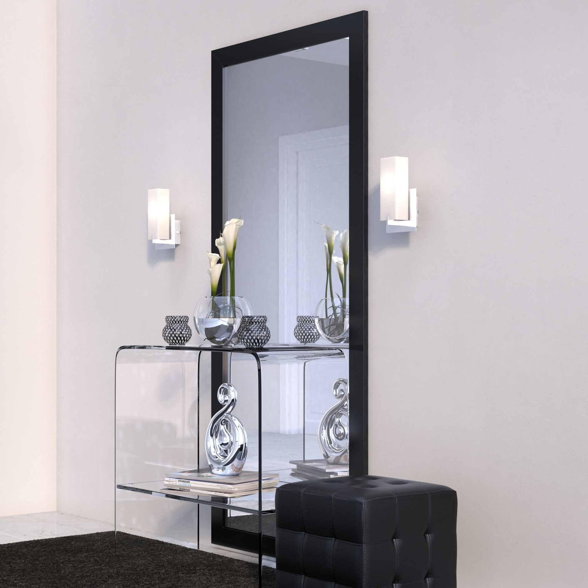 Jameson Modern & Contemporary Full Length Mirror | Products Intended For Jameson Modern & Contemporary Full Length Mirrors (Image 7 of 20)