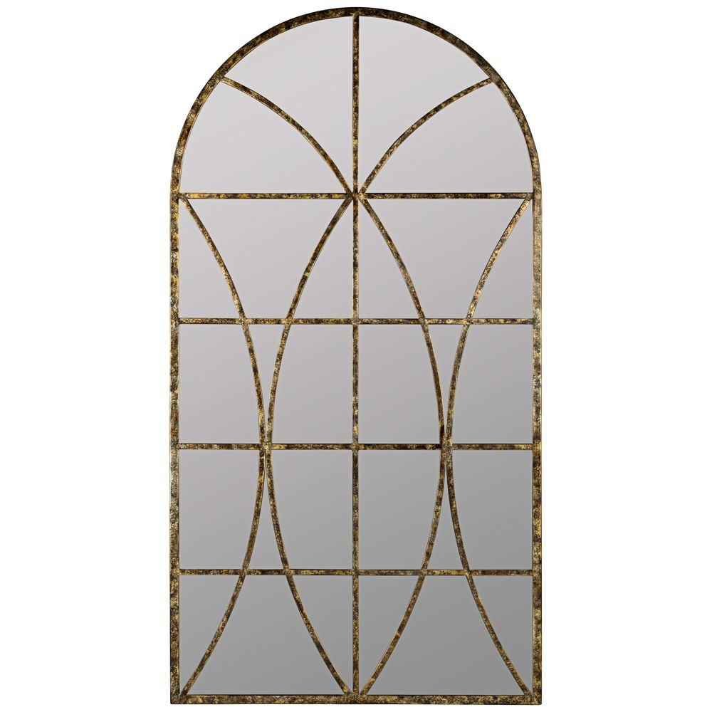 "Jarmo Aged Gold 31 1/2"" X 59"" Decorative Wall Mirror – Style In Phineas Wall Mirrors (Image 8 of 20)"