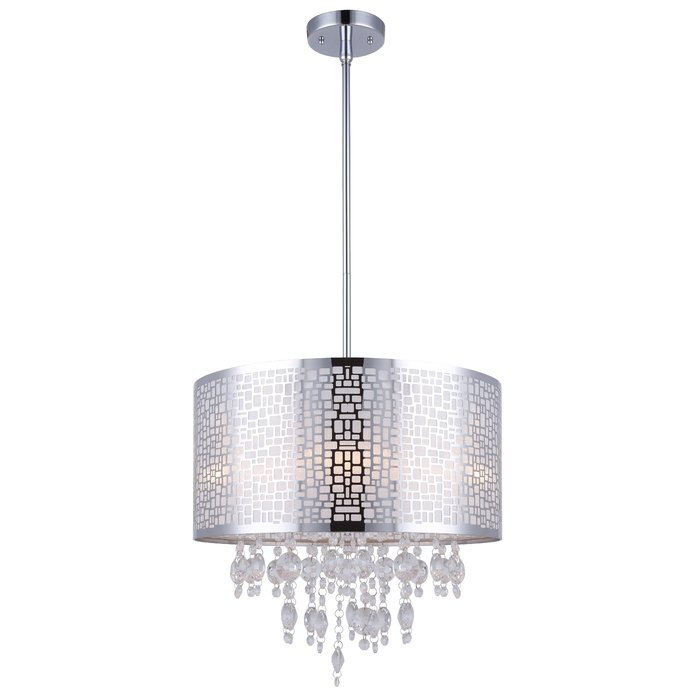 Featured Image of Jill 4 Light Drum Chandeliers