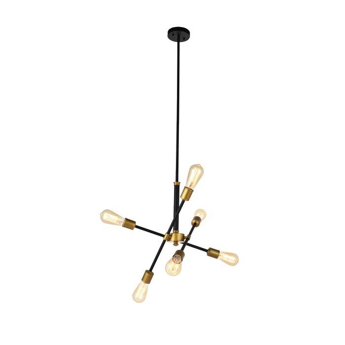 Featured Image of Johanne 6 Light Sputnik Chandeliers