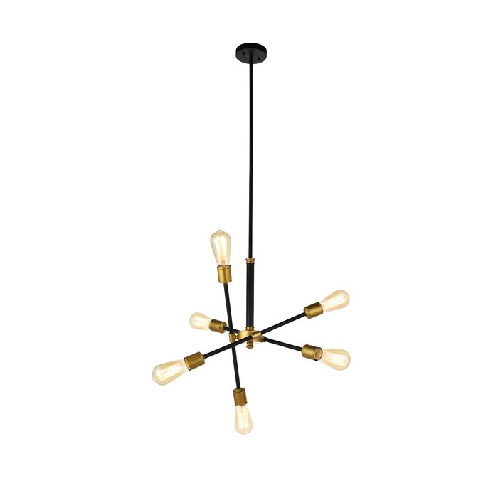 Johanne 6 Light Sputnik Chandelier Throughout Johanne 6 Light Sputnik Chandeliers (Image 12 of 20)