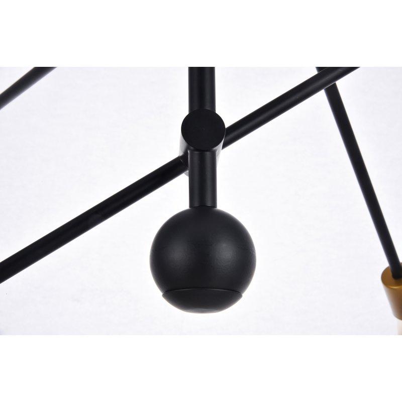 Johanne 6 Light Sputnik Chandelier With Johanne 6 Light Sputnik Chandeliers (Image 14 of 20)