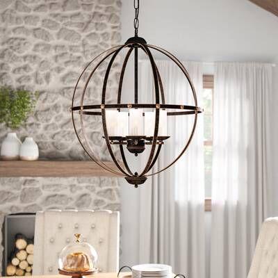 Joon 6 Light Globe Chandelier In 2019   Stuff To Buy Pertaining To Joon 6 Light Globe Chandeliers (Image 14 of 20)