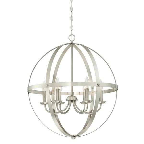 Joon 6 Light Globe Chandelier Inside Joon 6 Light Globe Chandeliers (Image 16 of 20)