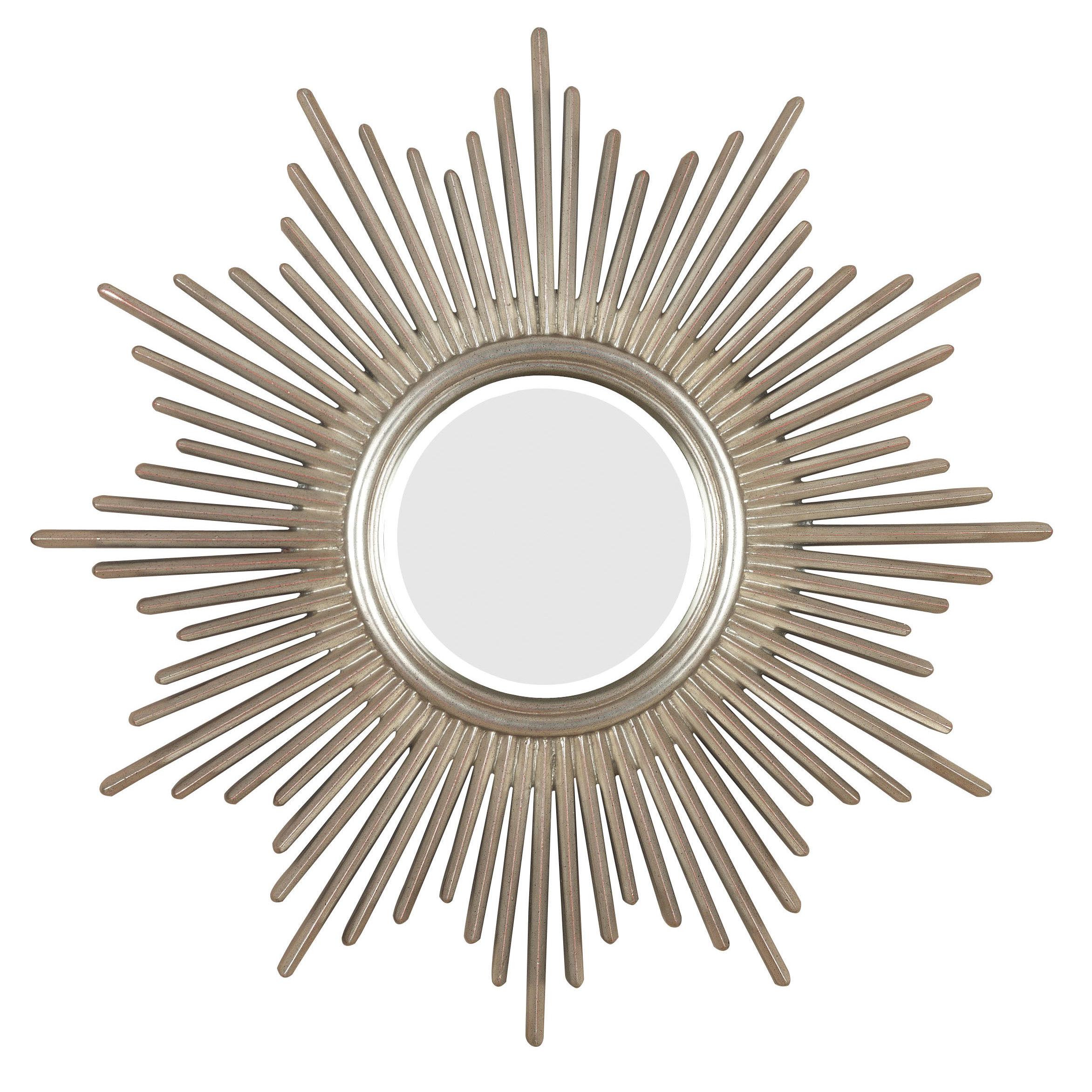 Josephson Starburst Glam Beveled Accent Wall Mirror For Estrela Modern Sunburst Metal Wall Mirrors (View 14 of 20)