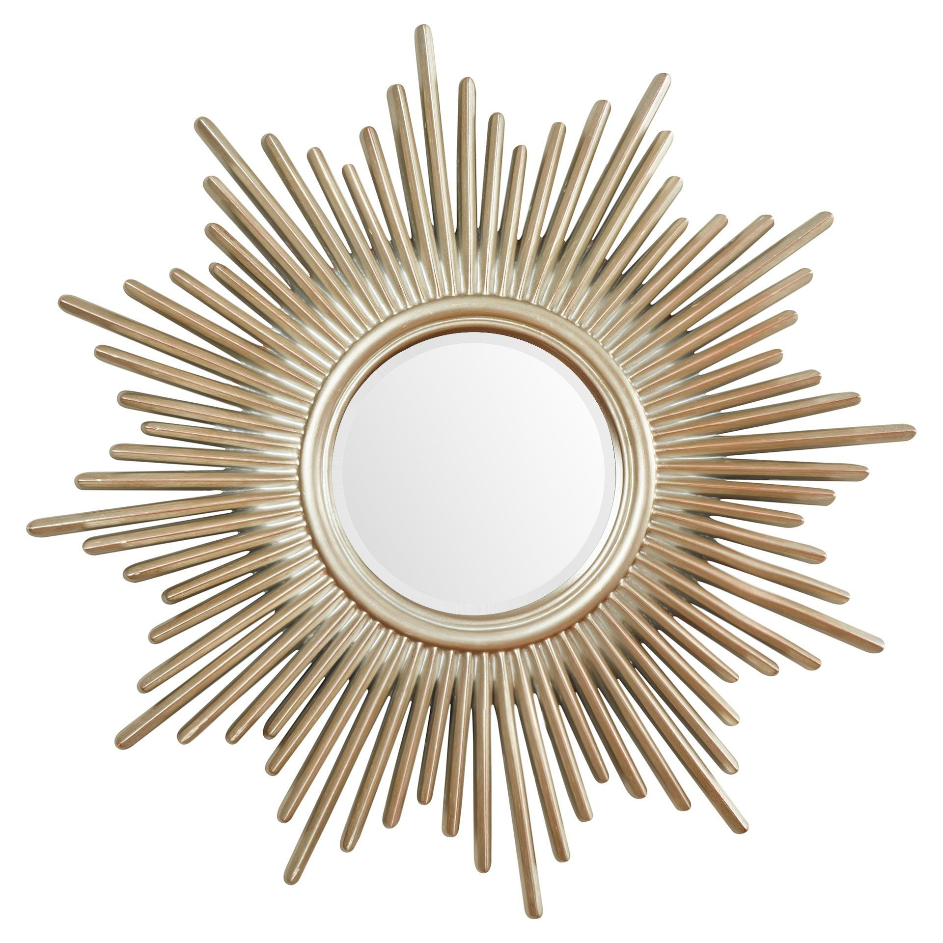 Josephson Starburst Glam Beveled Accent Wall Mirror | New For Josephson Starburst Glam Beveled Accent Wall Mirrors (Image 8 of 20)