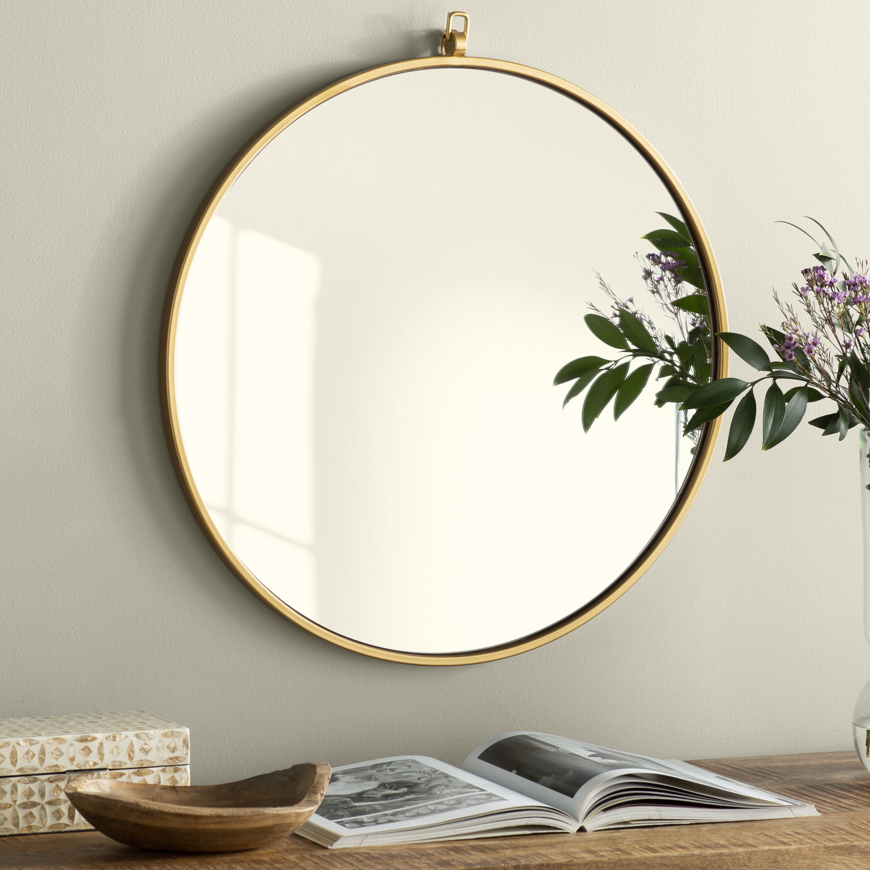 Joss & Main Essentials Accent Mirror Regarding Loftis Modern & Contemporary Accent Wall Mirrors (View 9 of 20)