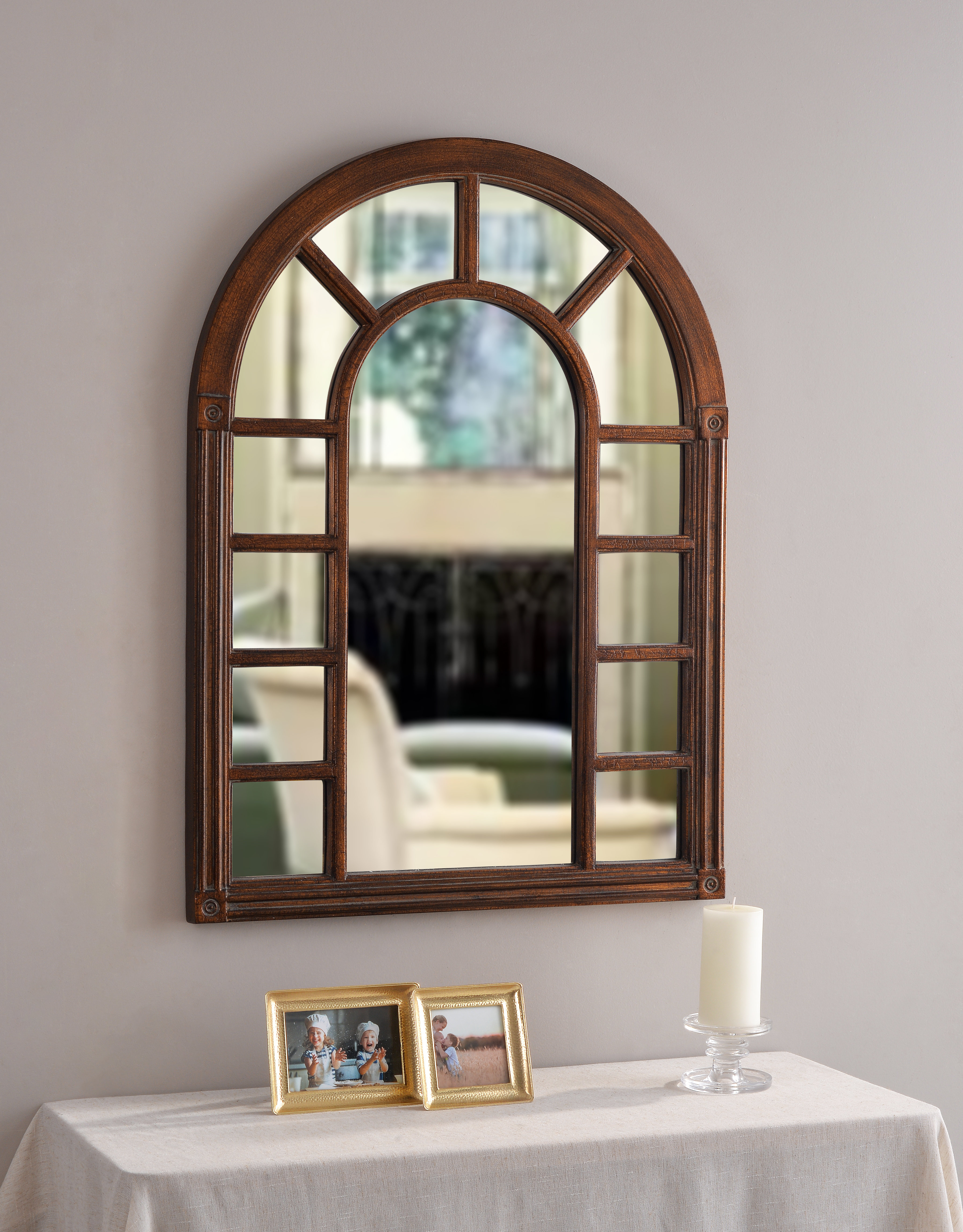 Juliana Accent Mirror Pertaining To Grid Accent Mirrors (Image 14 of 20)