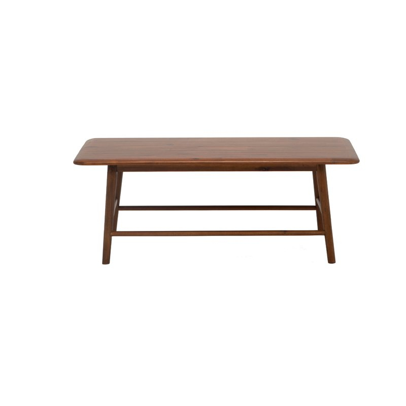 Kacia Coffee Table For Solid Hardwood Rectangle Mid Century Modern Coffee Tables (View 26 of 50)