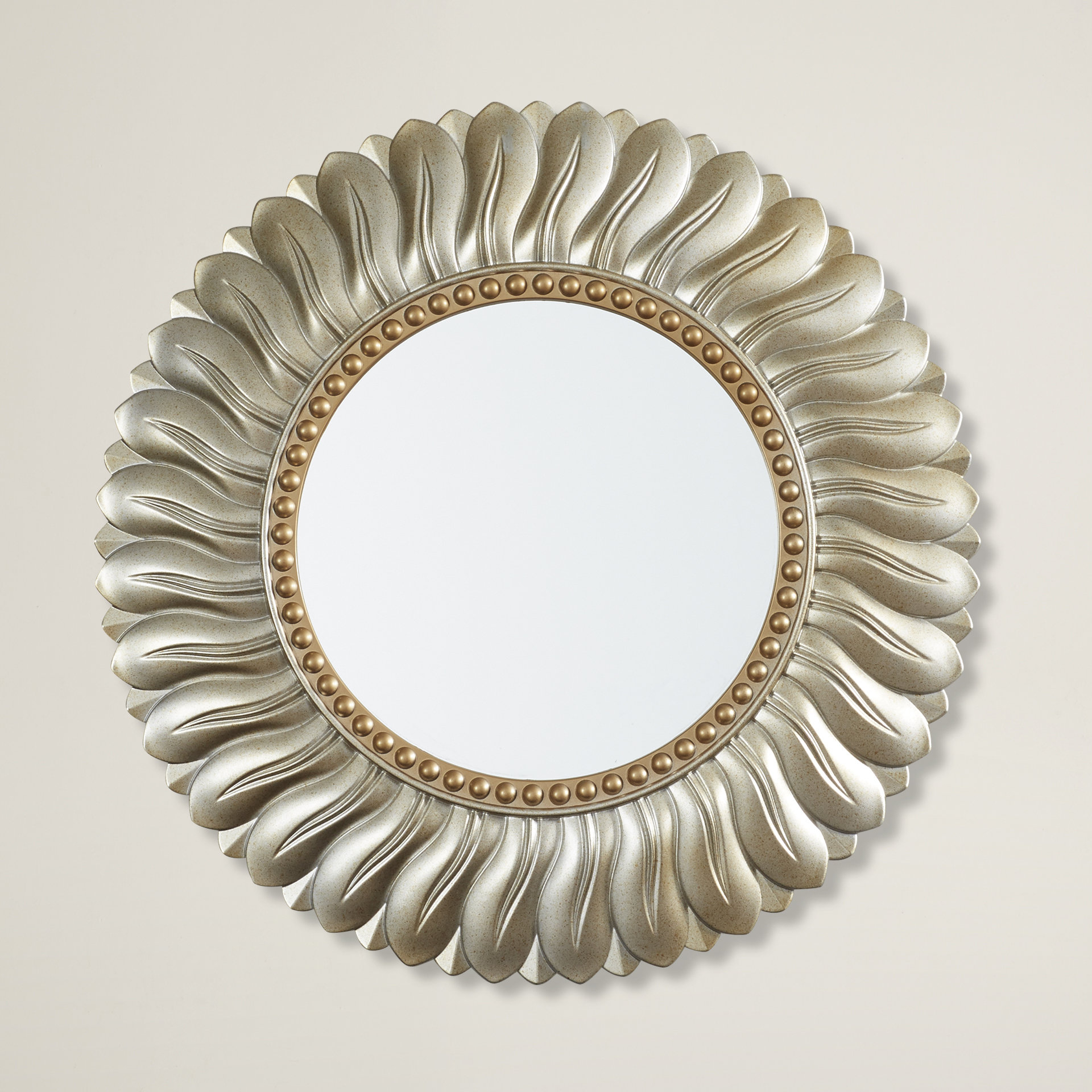 Karn Vertical Round Resin Wall Mirror Within Karn Vertical Round Resin Wall Mirrors (Image 8 of 20)