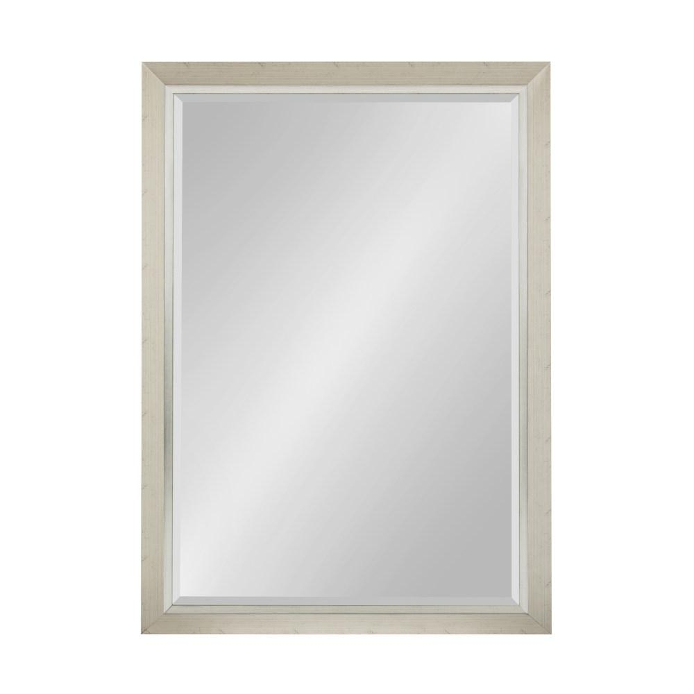 Kate And Laurel Lohman Rectangle Silver Accent Mirror 212998 Inside Rectangle Accent Mirrors (View 13 of 20)