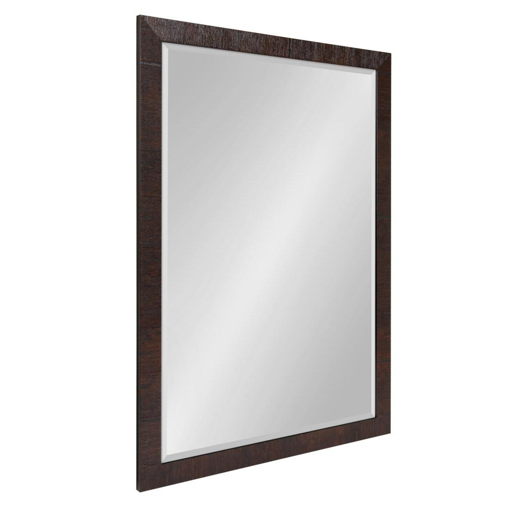 Kate And Laurel Sierra Rectangle Brown Accent Mirror 213012 Throughout Rectangle Accent Mirrors (View 19 of 20)