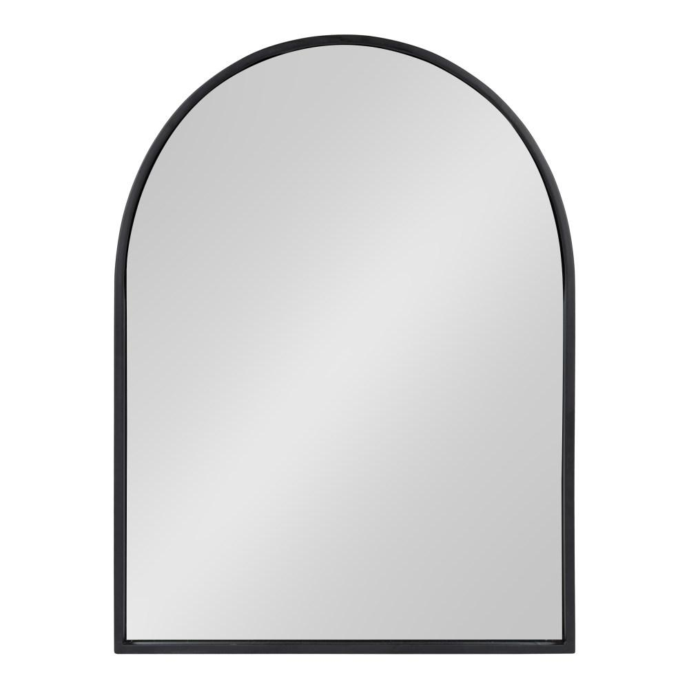 Kate And Laurel Valenti Arch Black Wall Mirror 214477 – The In Arch Vertical Wall Mirrors (Image 15 of 20)
