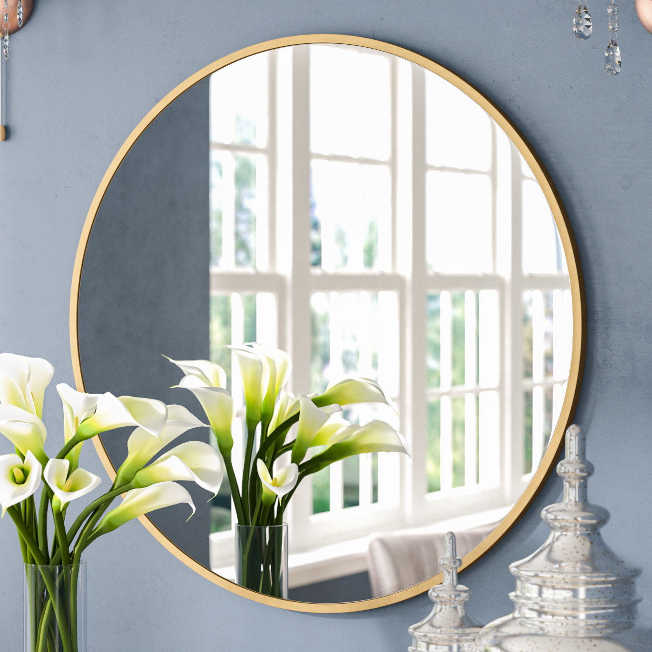 Katsikis Accent Mirror With Moseley Accent Mirrors (View 8 of 20)