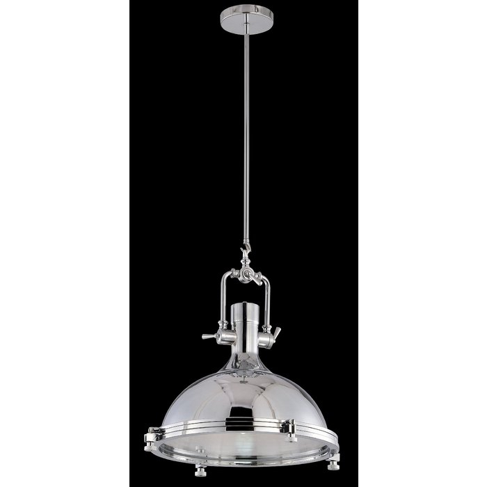 Keesee 1 Light Single Dome Pendant Pertaining To Hamilton 1 Light Single Dome Pendants (Image 13 of 25)