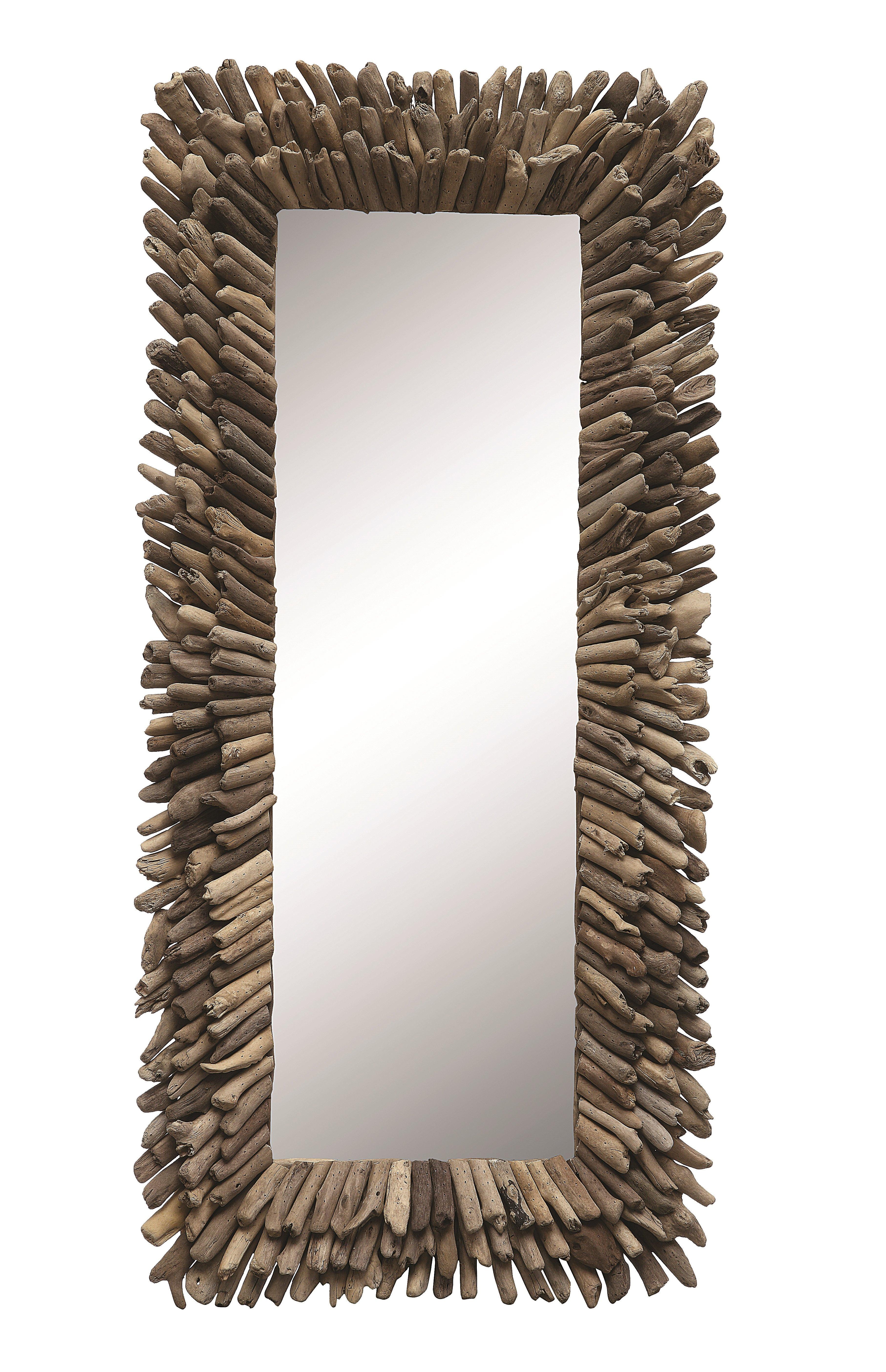 Kellett Accent Mirror Within Perillo Burst Wood Accent Mirrors (View 9 of 20)