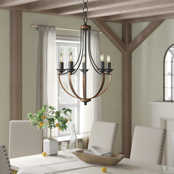 Kenna 5 Light Empire Chandelier With Warner Robins 3 Light Lantern Pendants (View 21 of 25)