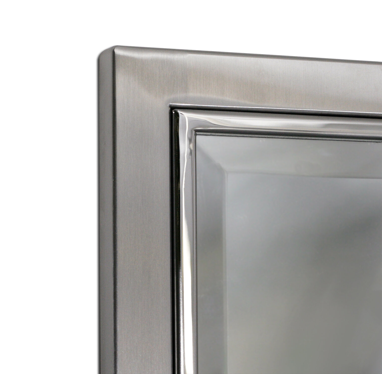Kennith Classic Metal Framed Bathroom/vanity Wall Mirror With Regard To Lake Park Beveled Beaded Accent Wall Mirrors (View 19 of 20)