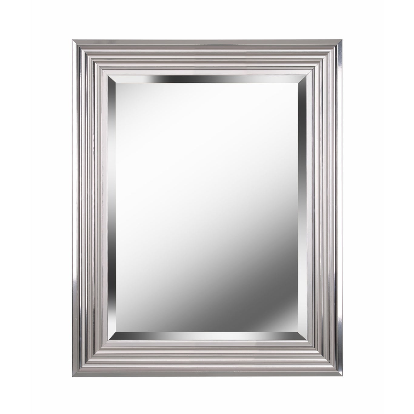 "Kenroy Home 60320 Lyonesse 30"" X 24"" Rectangular Beveled Accent Mirror Within Traditional Beveled Accent Mirrors (Image 7 of 20)"