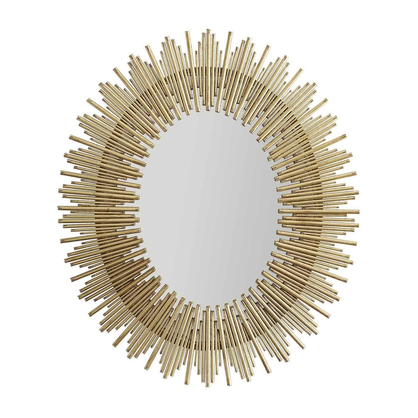 Kentwood Oval Wall Mirror | Gold Regarding Kentwood Round Wall Mirrors (View 12 of 20)
