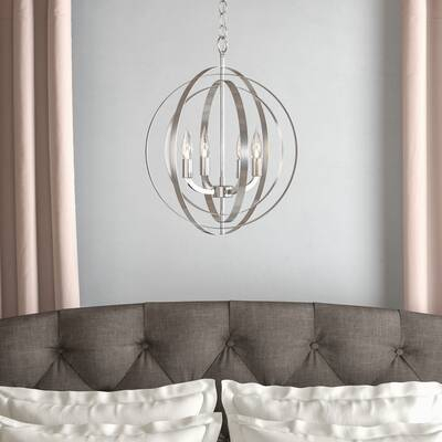 Kimbrell 3 Light Vanity Light Intended For Hendry 4 Light Globe Chandeliers (Image 13 of 20)