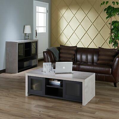 Kwen Industrial Storage Coffee Tablefoa Inside Dravens Industrial Cherry Coffee Tables (Image 14 of 25)