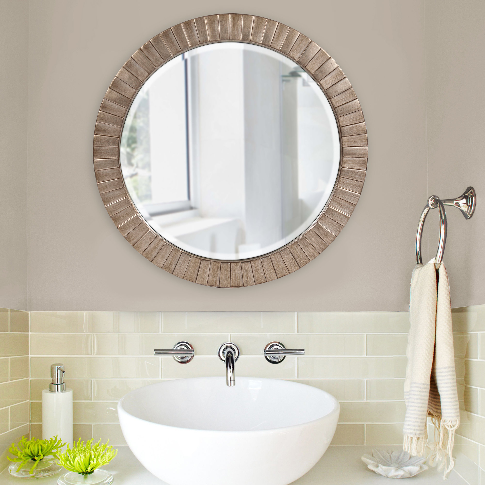 Labarge Accent Mirror & Reviews | Joss & Main Intended For Charters Towers Accent Mirrors (Image 13 of 20)