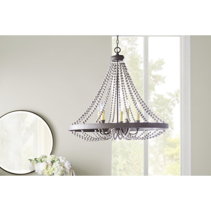 Ladonna 5 Light Novelty Chandelier For Ladonna 5 Light Novelty Chandeliers (View 2 of 20)