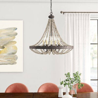 Ladonna 5 Light Novelty Chandelier | Joss & Main With Ladonna 5 Light Novelty Chandeliers (View 4 of 20)