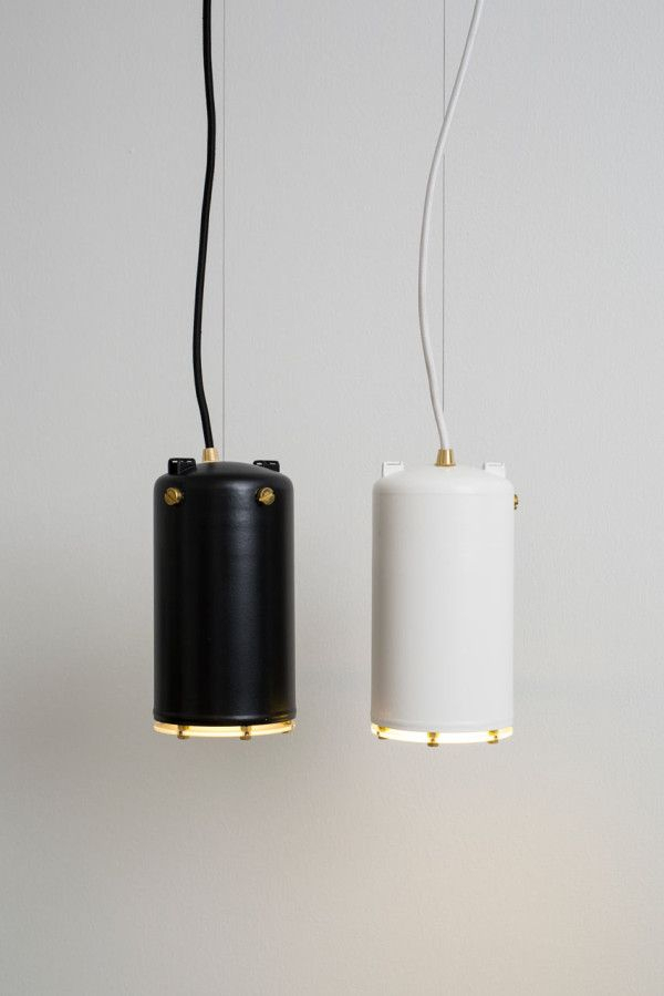 Lamps Made From Espresso Machine Boilers | Cool Fixtures Regarding Willems 1 Light Single Drum Pendants (Image 11 of 25)