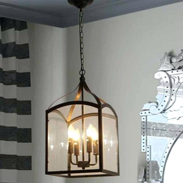 Lantern Pendant Light – Gothamcentral (Image 22 of 25)