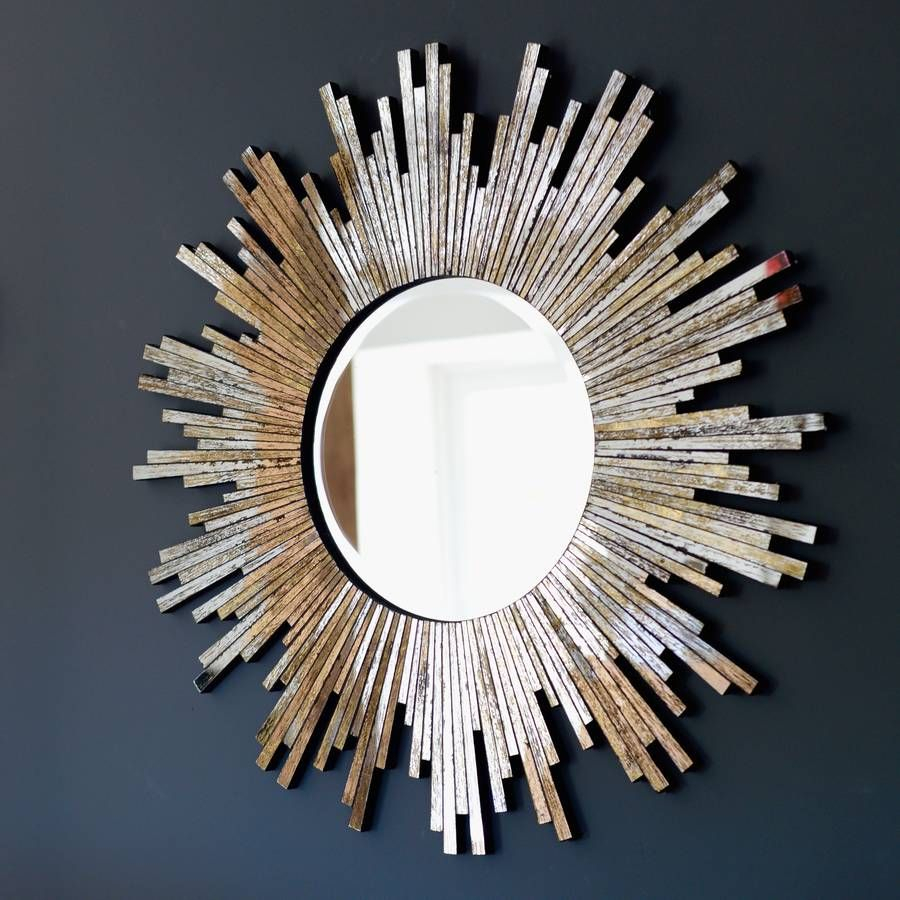 Large Burnished Sunburst Mirror | Living Room In 2019 Within Brylee Traditional Sunburst Mirrors (View 9 of 20)