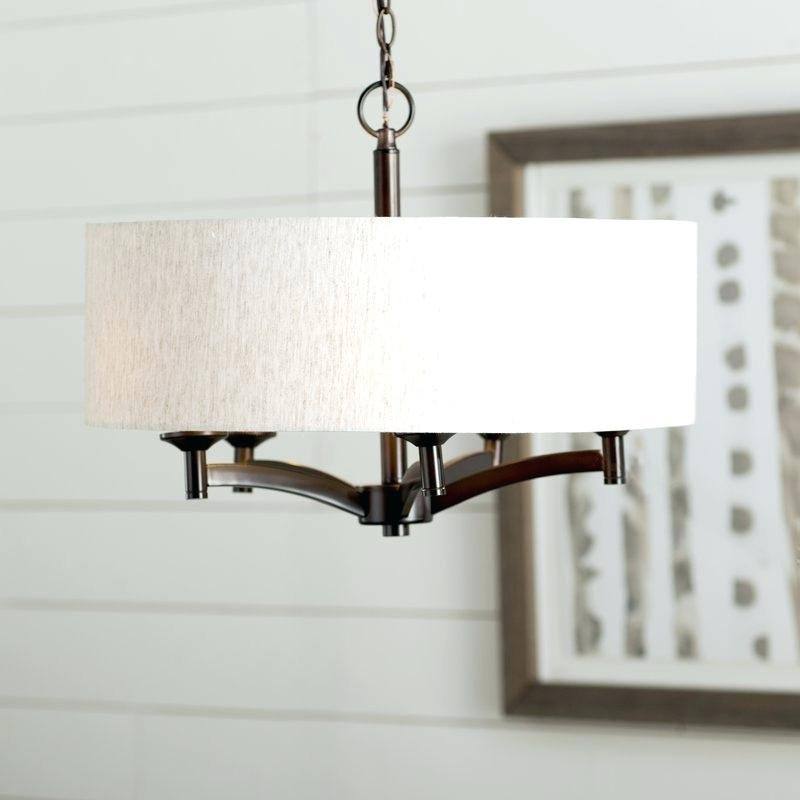 Large Drum Shade To Fit Over Chandelier – Tuftsmood Throughout Montes 3 Light Drum Chandeliers (View 18 of 20)