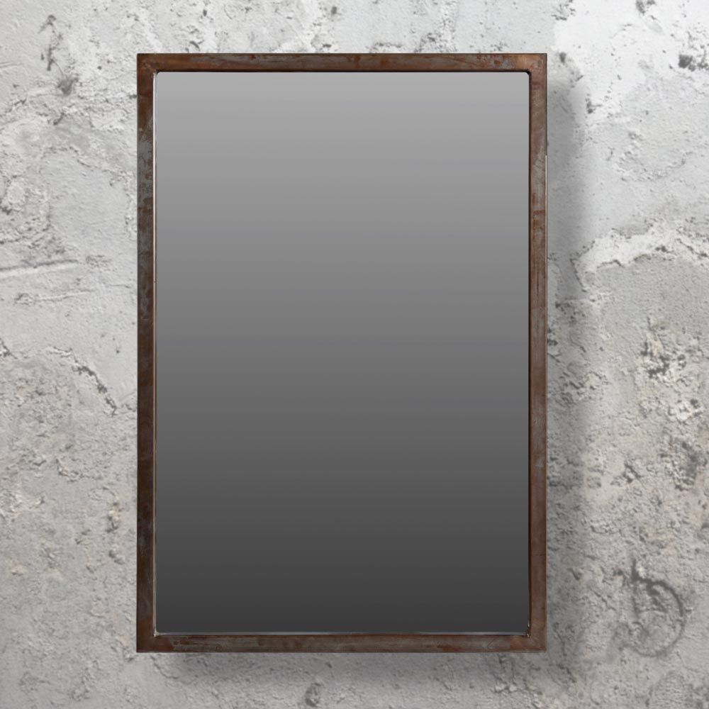 Large Industrial Wall Mirror Cl 33678 | Liberty Living Room With Regard To Koeller Industrial Metal Wall Mirrors (Image 9 of 20)