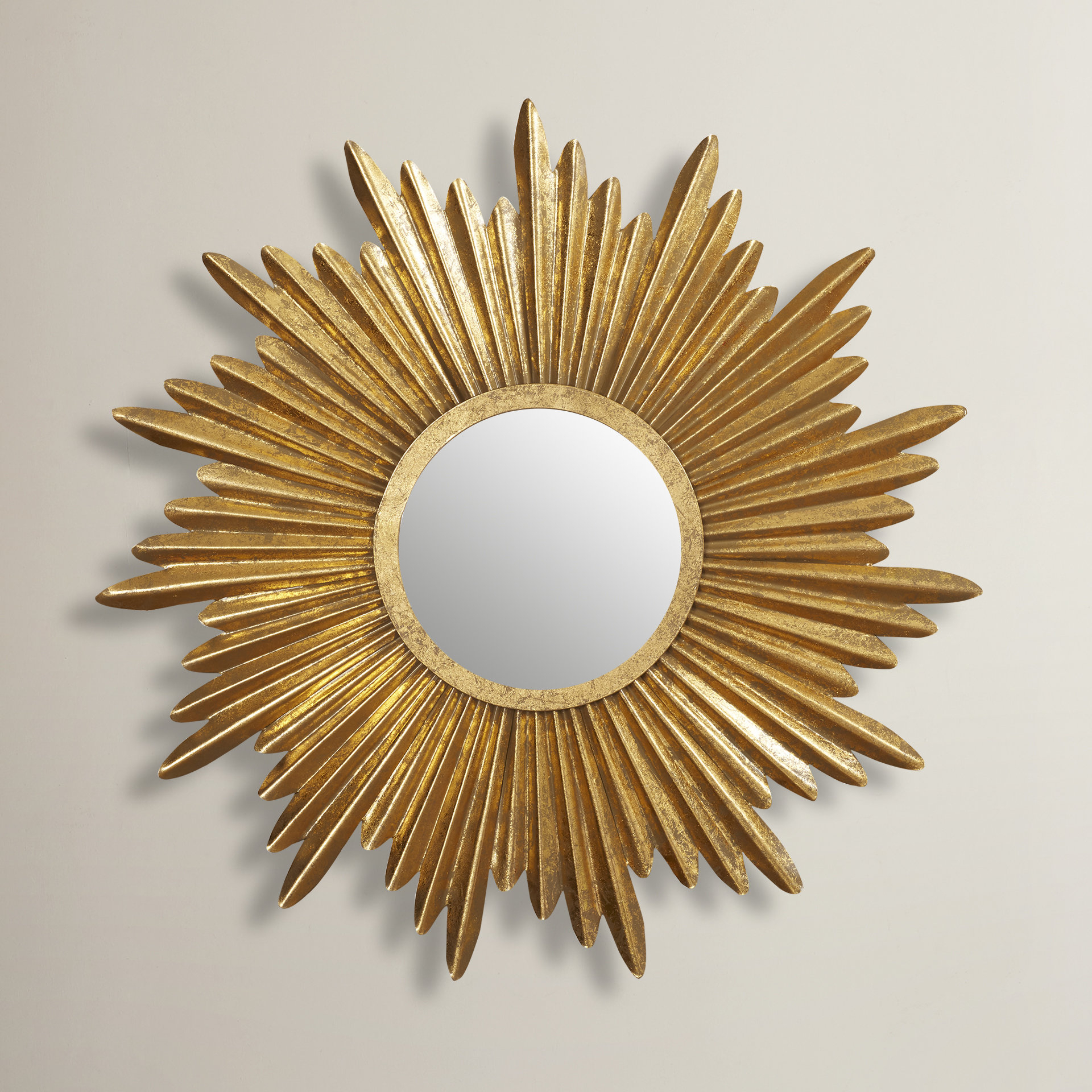 Large & Oversized Sunburst Mirrors You'll Love In 2019 | Wayfair Within Brylee Traditional Sunburst Mirrors (View 4 of 20)
