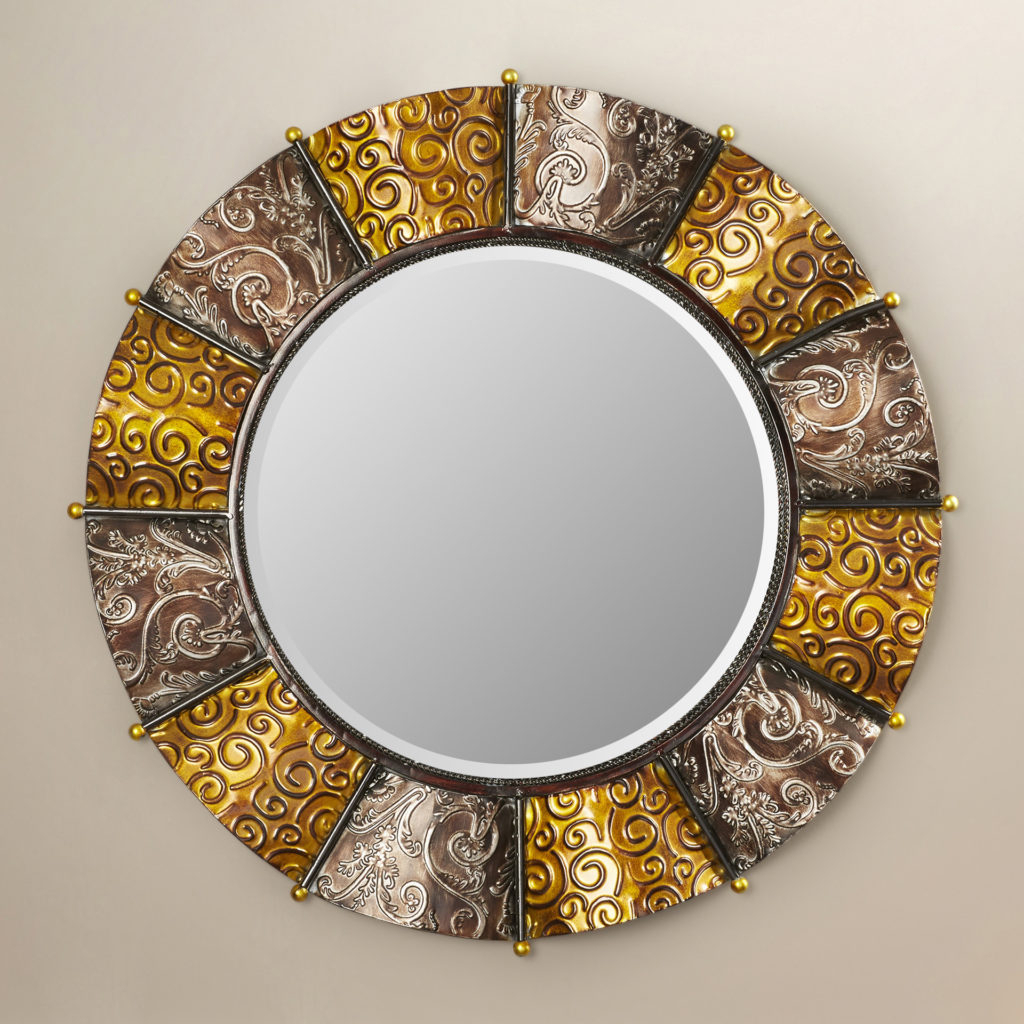 Large Round Gold Mirror Uk – Mirror Ideas Regarding Kentwood Round Wall Mirrors (View 15 of 20)