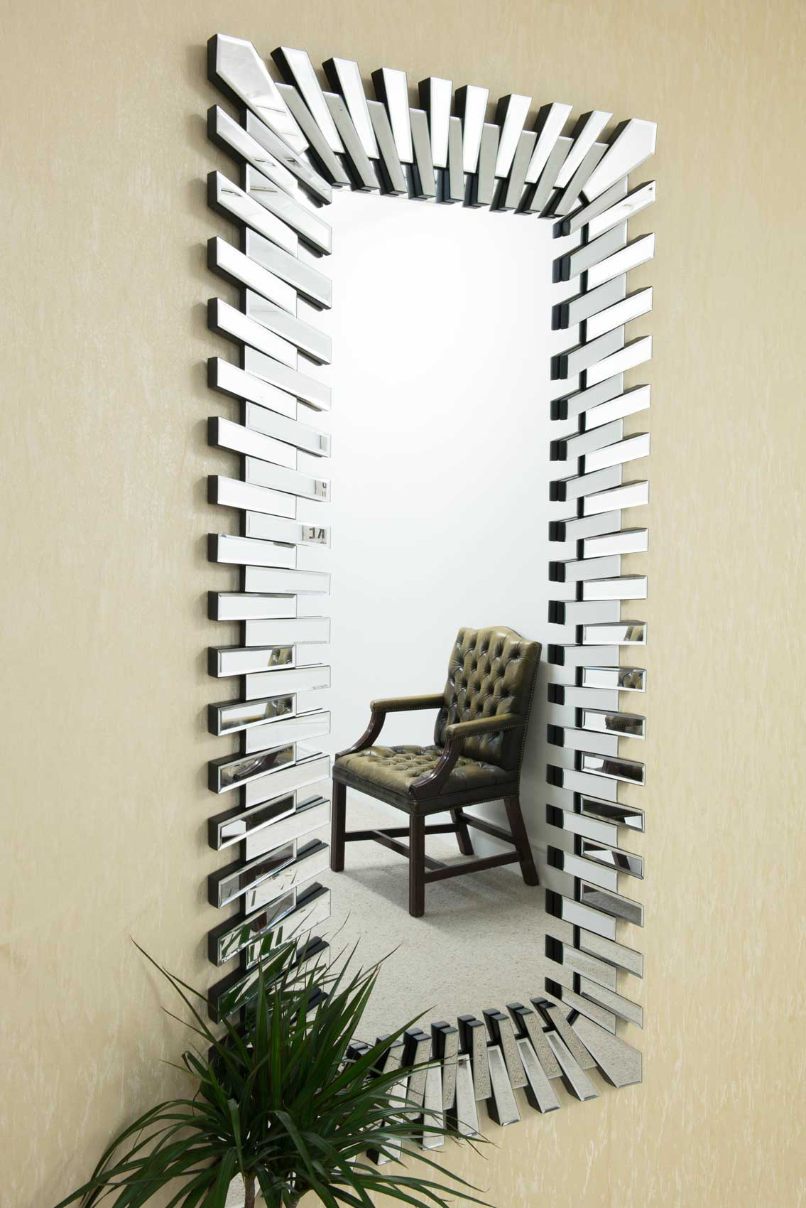 Featured Image of Modern Rectangle Wall Mirrors