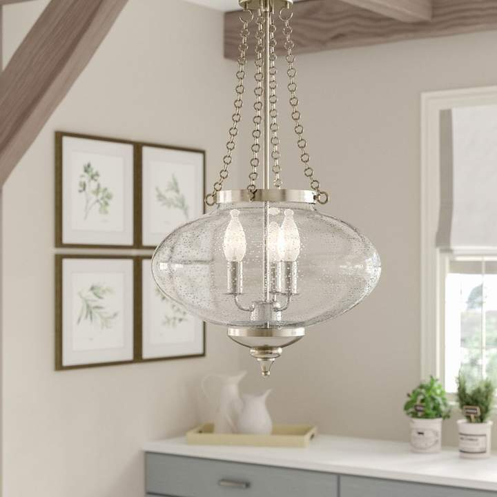 Lark Manor Fortunat 3 Light Urn Pendant | Products In 2019 With Regard To 3 Light Single Urn Pendants (Image 19 of 25)