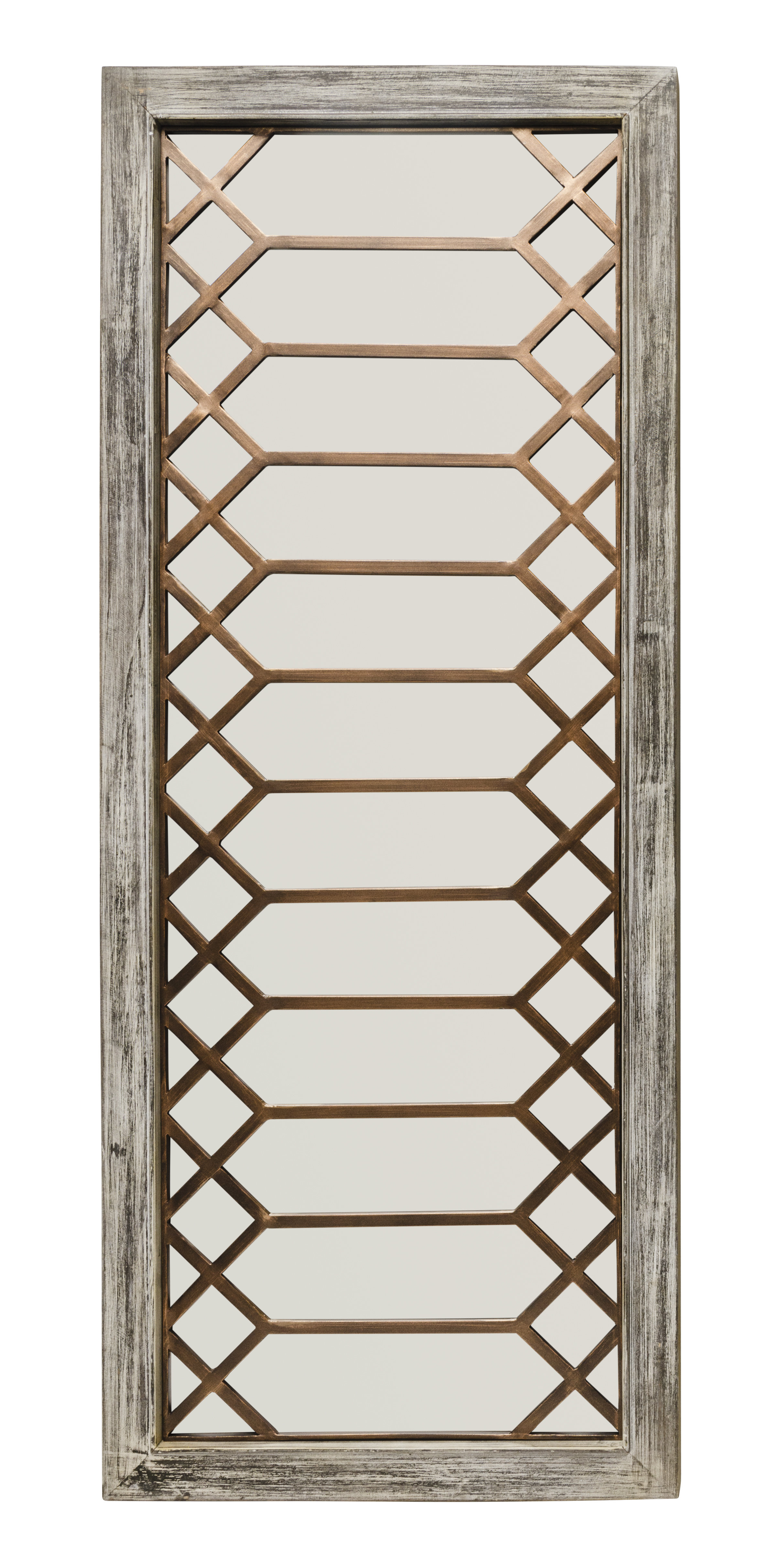 Lark Manor Polito Cottage/country Wall Mirror With Regard To Yatendra Cottage/country Beveled Accent Mirrors (View 6 of 20)