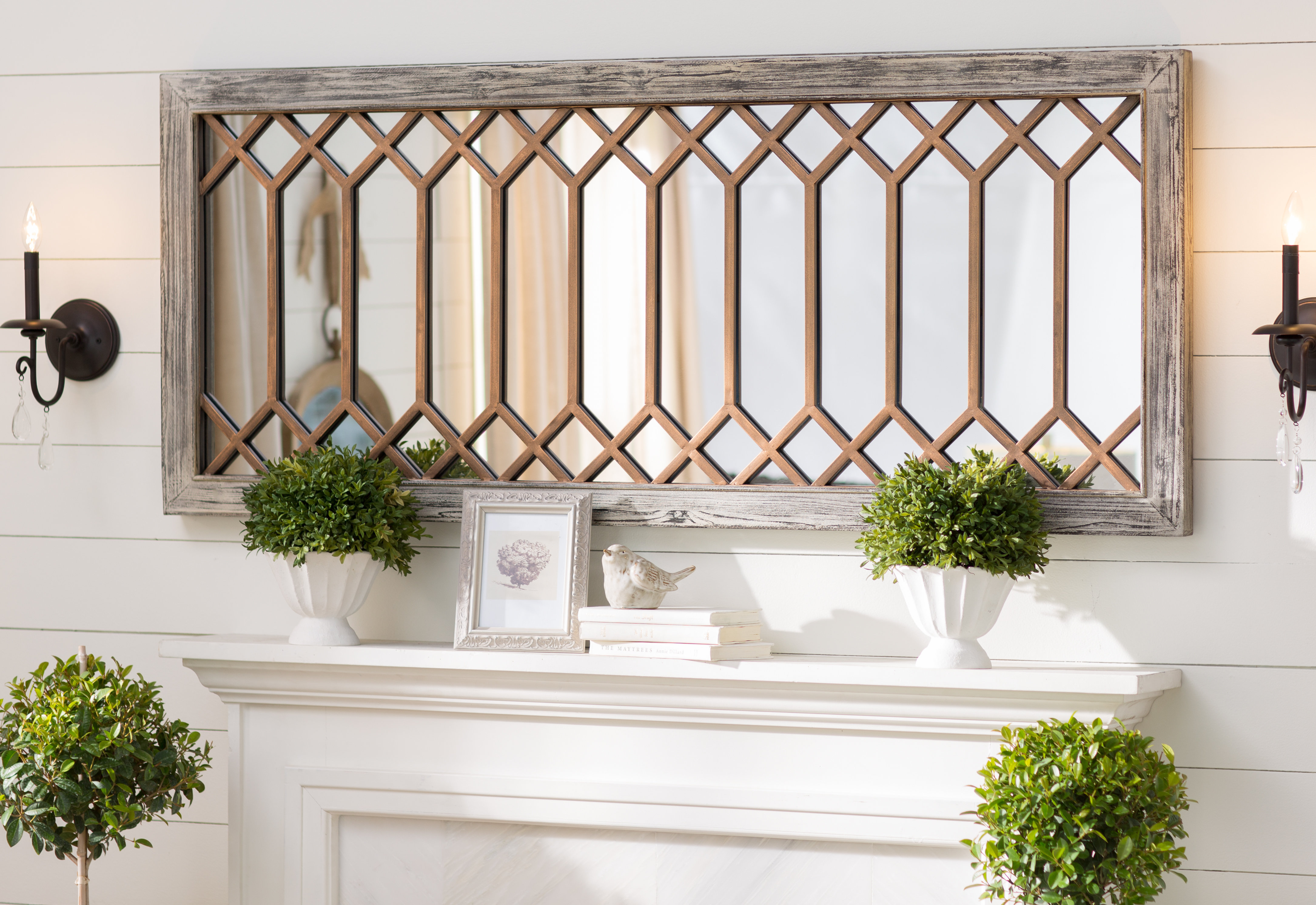 Lark Manor Polito Wall Mirror Regarding Dandre Wall Mirrors (View 12 of 20)