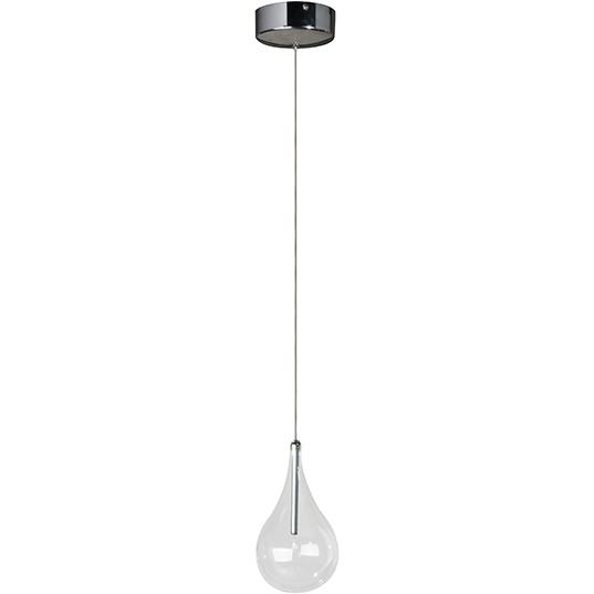 Larmes 1 Light Pendant Pertaining To 1 Light Single Teardrop Pendants (View 22 of 25)