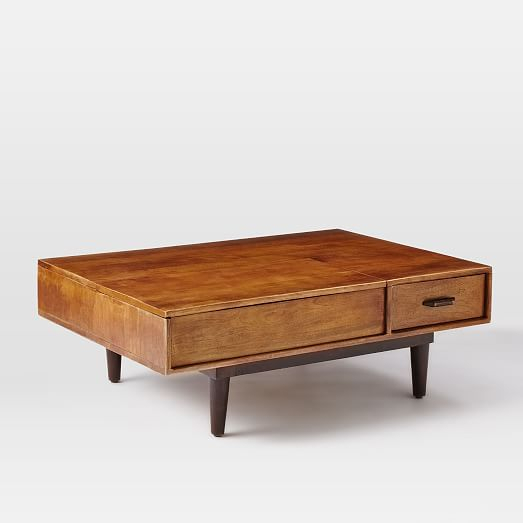 Lars Mid Century Storage Coffee Table | West Elm | Living In Carson Carrington Astro Mid Century Coffee Tables (View 11 of 25)